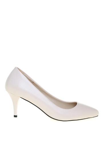 Fabrika Fabrika Kadın Bej Topuklu Ayakkabı Bej